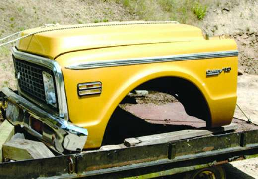 1972 CHEVY CUSTOM-10 FRONT CLIP